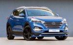 Заряженная версия рестайлингового кросса Hyundai Tucson Sport