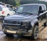 Первые снимки нового внедорожника Land Rover Defender