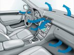 Замена фильтра кондиционера автомобиля и хладагента
